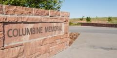 Columbine memorial sign
