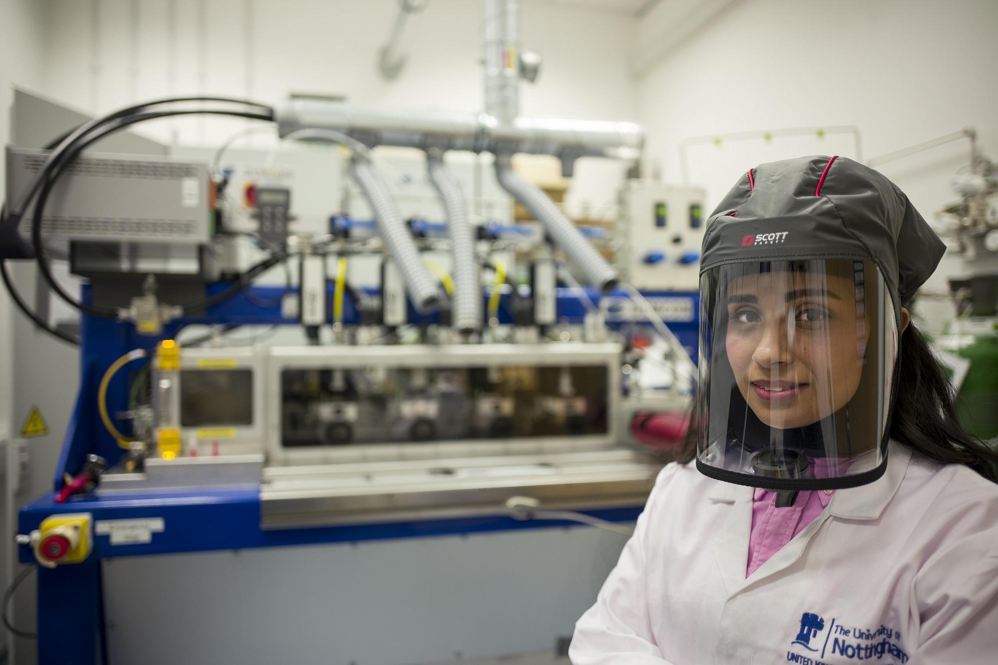 Anne McLaren Research Fellow Dr Nesma Aboulkhair