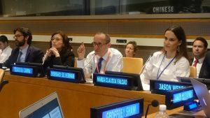Professor Sir Bernard Silverman at the United Nations
