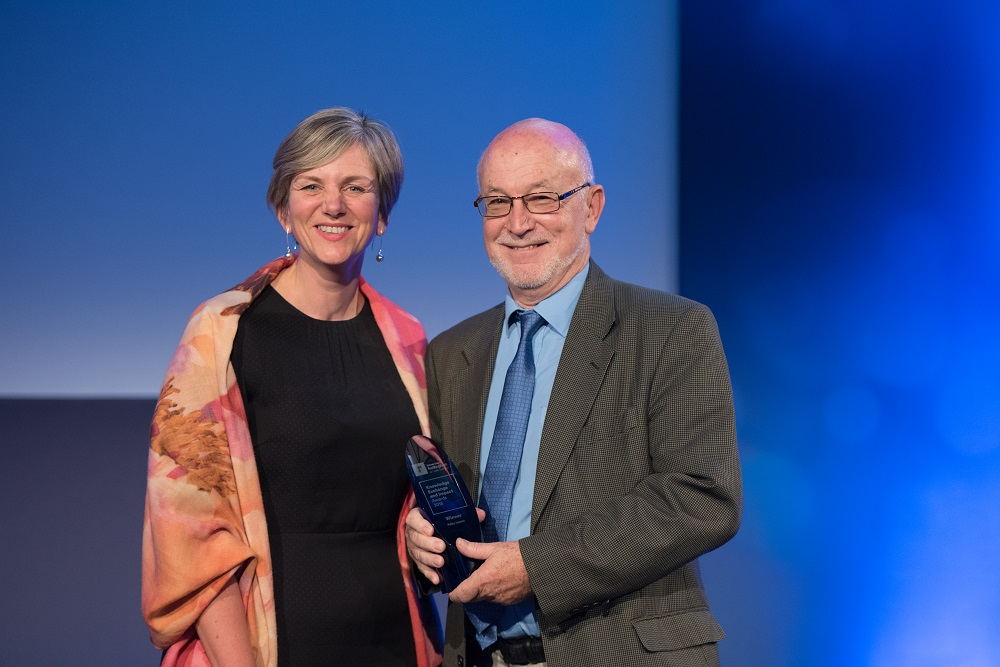 Professor Antoni Kapcia with Lilian Greenwood MP