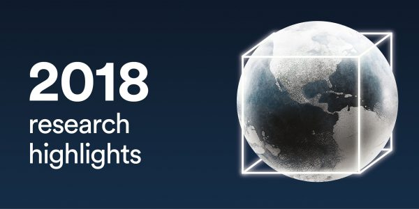 2018 our year in research