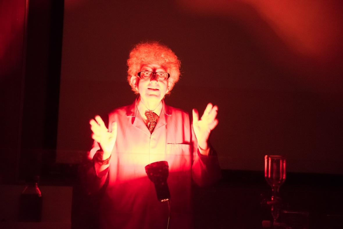 Professor Sir Martyn Poliakoff at Wonder 2017