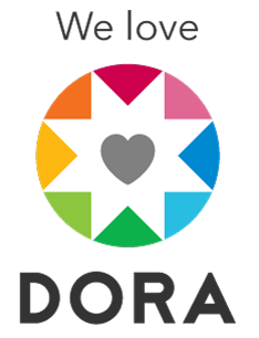 We love Dora logo