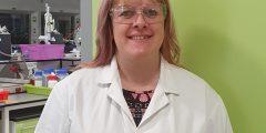 Technician Joanne Green