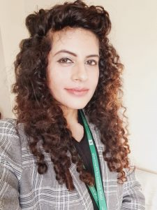 Photograph of Ayesha Iqbal, who carried on fieldwork in Pakistan