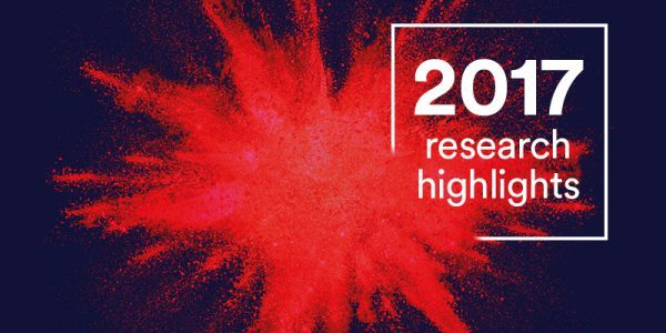 2017 research highlights