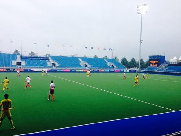 Practice match vs India
