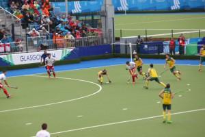 England vs Australia men's hockey