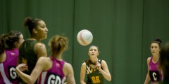 UoN Netball in action