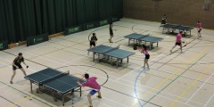 The Table Tennis club on their way to a clean sweep over Trent