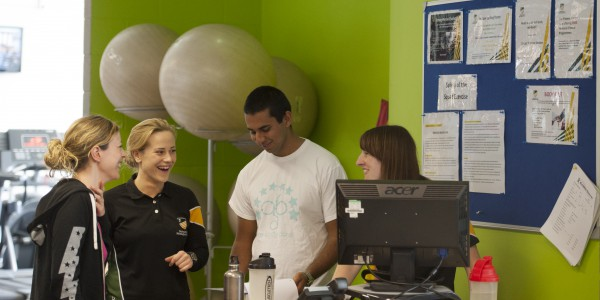 Our friendly Fitness Centre instructors are here to help