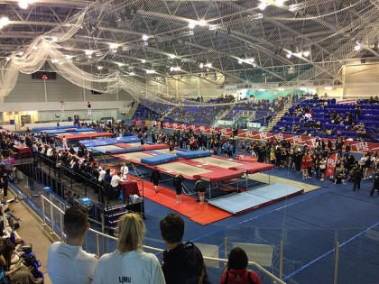 BUCS Nationals 2015 - trampoline