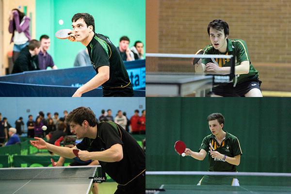 University of Nottingham Table Tennis Mens 1st team