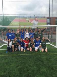 Team UK and Team China post-match photo!