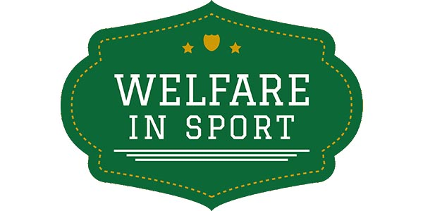 welfare in sport logo white
