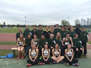 BUCS UoN Athletics team