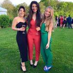 Sabrina at the 2015 Sports Ball with teammates, Samantha Reardon and Georgie Lack