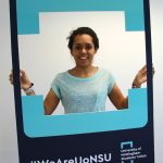Yolanda whilst working for the Students' Union as Postgraduate Officer