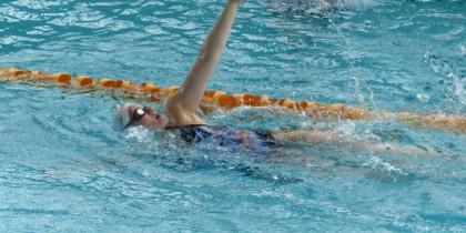 Becky Swimming