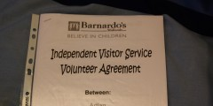 I'm an Independent Visitor for Barnardo's!!