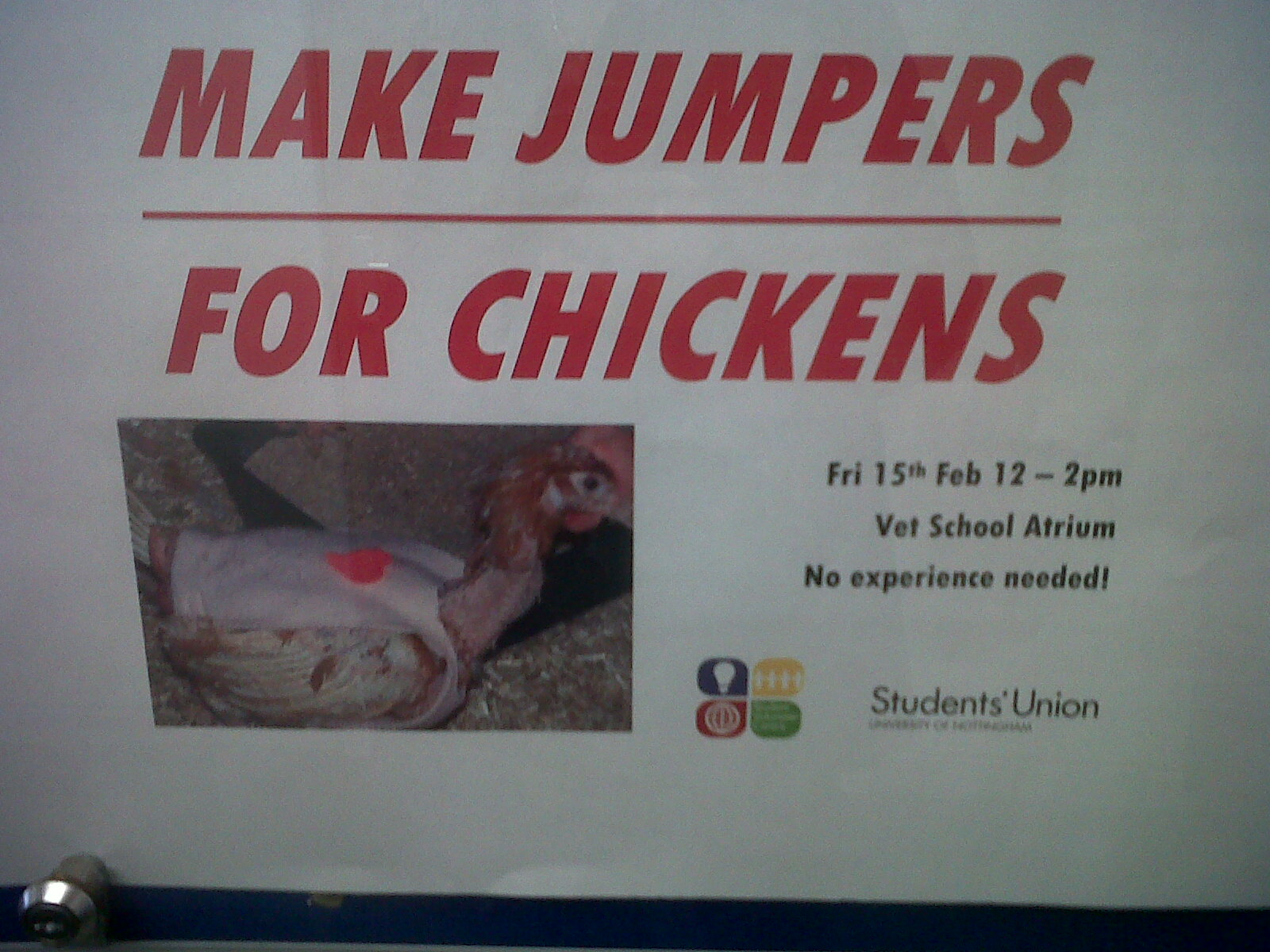 Yes this is actually a thing. On my campus.