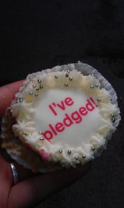 My pledge; to attend a careers event or workshop