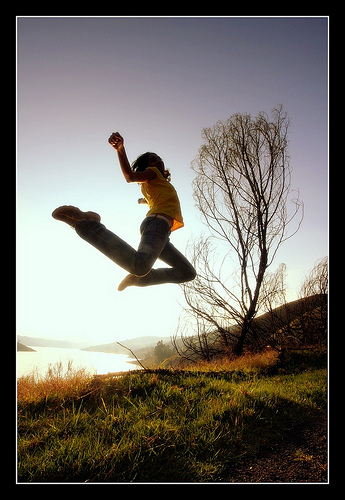 Some people have attempted to fly by jumping really high in the air
