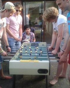 Summery table football