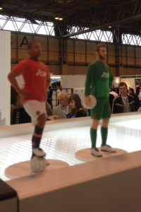 A 3D printed version of De Gea and Evra