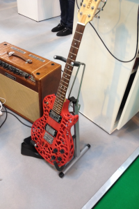 A 3D printed guitar