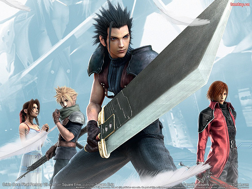 Stress relief: Killing monsters with a massive sword