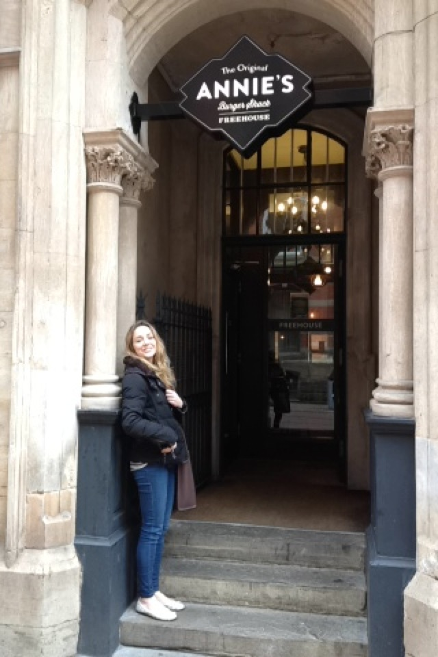 Annie's fancy new restaurant in the Lace Market