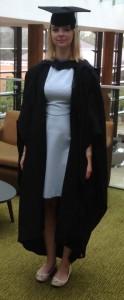 Full graduation gear!