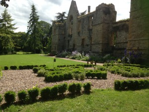 The grounds of Southwell Minster