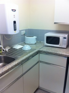 Putting the kitchen back into kitchenette (whatever that means)