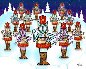 12-drummers