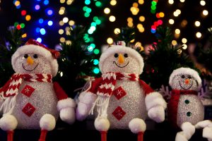 snowman-family