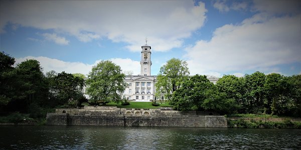 picture of University of nottingham trent building on a cloudy day