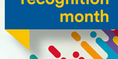 The Disability Recognition month logo