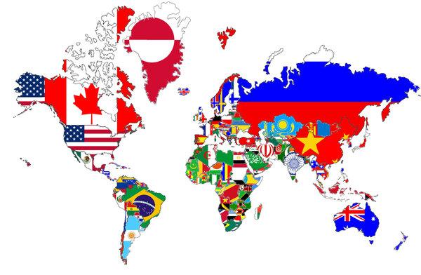Study World Map.World Map Study Abroad