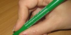 Keep Calm and Go Green pen