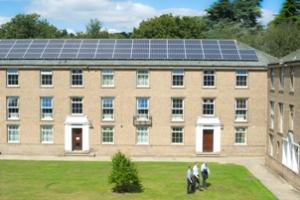 Lincoln Hall solar panels