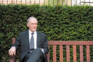 The University of Nottingham Vice-Chancellor Professor David Greenaway