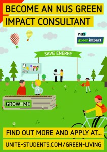 Green Impact recruitment poster