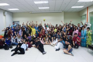 students at the Sustainability Summit in Malaysia