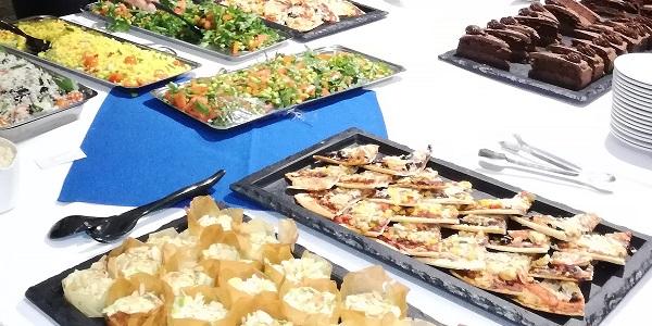 vegan buffet