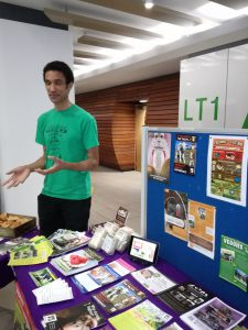 Veggies' information stall