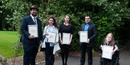 Winners of Postgraduate teaching awards