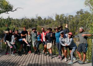 A diverse group of nationalities… Australian, French, Italian, British, German, Spanish and Singaporean! Grampians National Park March 2019.