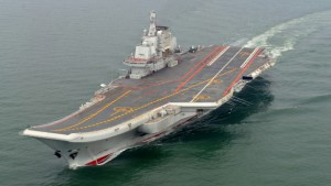 Chinese aircraft carrier Liaoning